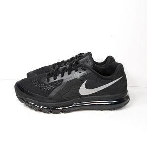 Nike Air Max 2014 Black Running Shoes Sz 13